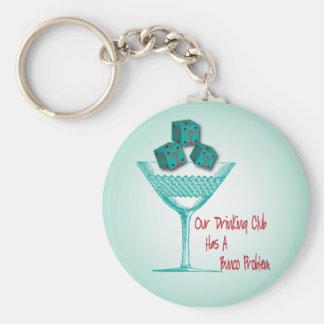 Onze het Drink Club heeft een Probleem Bunco Sleutelhanger