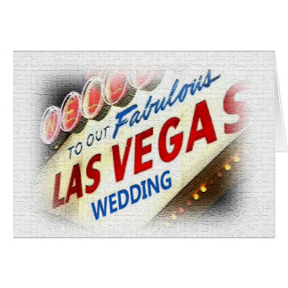 Onze Kaart van het Huwelijk van Las Vegas
