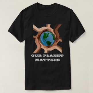 Onze T-shirt van de Kwesties van de Planeet