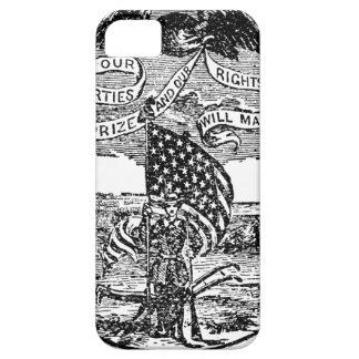 Onze Vrijheden wij Prijs, Rechten die wij hebben Barely There iPhone 5 Hoesje