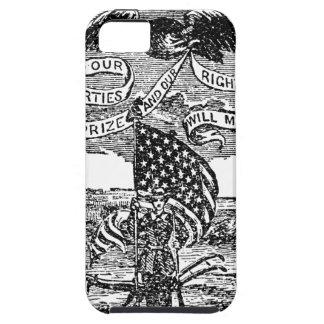 Onze Vrijheden wij Prijs, Rechten die wij hebben Tough iPhone 5 Hoesje