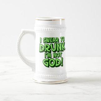 Onzorgvuldige Drinke St Paddys Humor Bierpul