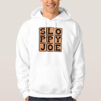 Onzorgvuldige Joe, de Sandwich van het Voedsel van Hoodie