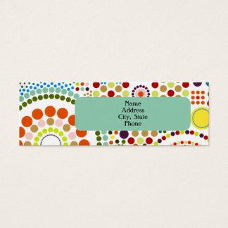Oodles van Cirkels Mini Visitekaartjes