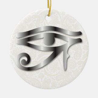 Oog van Horus - Staal 1 - Ornament