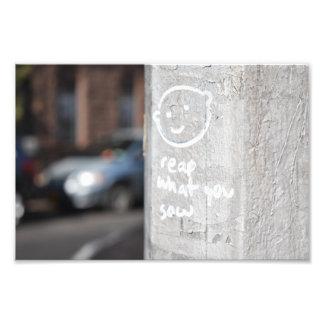 Oogst Wat u de Foto NYC van Graffiti van de Stad