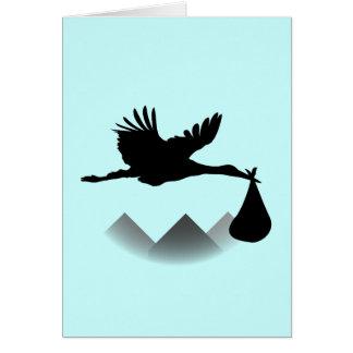 Ooievaar & Baby Briefkaarten 0