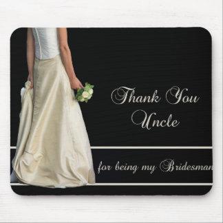 Oom Bridesman dankt u Muismat