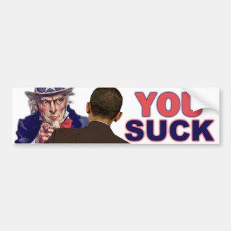 Oom Sam aan Obama Bumpersticker