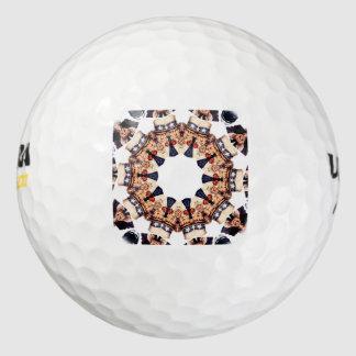 Oom Sam Pointing Finger Kaleidoscope Golfballen
