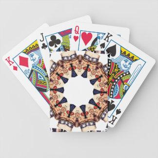 Oom Sam Pointing Finger Kaleidoscope Poker Kaarten
