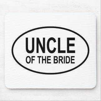 Oom van het Ovaal van het Huwelijk van de Bruid Muismat