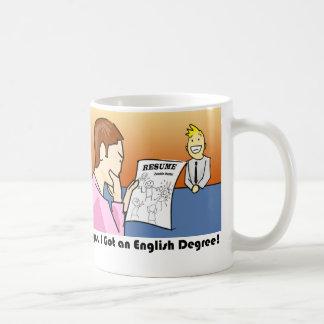 Oops, kreeg ik een Engelse Graad Koffiemok