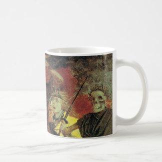 Oorlog door Arnold Bocklin, Vintage Symbolism Fine Koffiemok