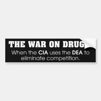 Oorlog op Drugs Bumpersticker