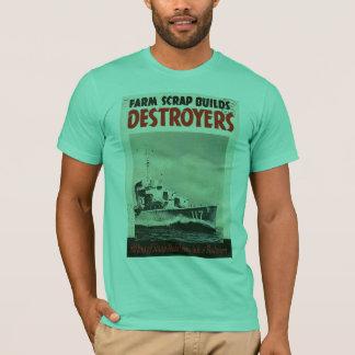 Oorlog van de Wereld van torpedojagers 3 T Shirt