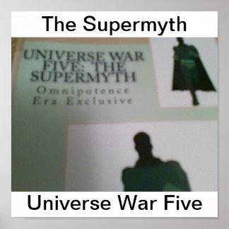 Oorlog Vijf van het heelal Poster