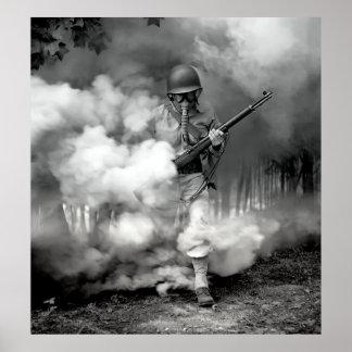 OORLOGVOERING 1942 POSTER