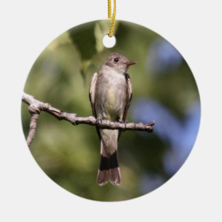 Oostelijke Houten Pewee Ornament
