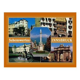Oostenrijk, Tirol, Innsbruck, Multiview Briefkaart