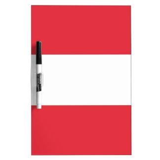 Oostenrijkse Vlag Whiteboard