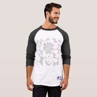 Oosterse bloem-Grijs T Shirt