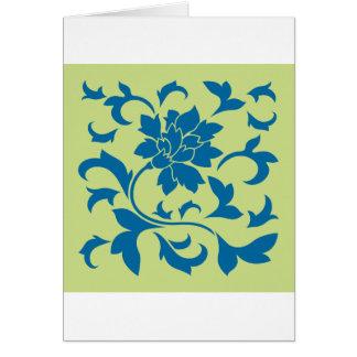 Oosterse Bloem - snorkel Groen Blauw & Daiquiri Kaart