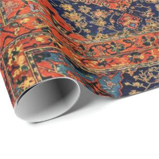 Oosterse deken in blue&orange cadeaupapier
