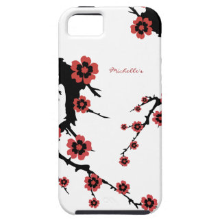Oosterse Sakura Tough iPhone 5 Hoesje