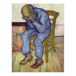 Op de drempel van Eeuwigheid - Vincent van Gogh Briefkaart