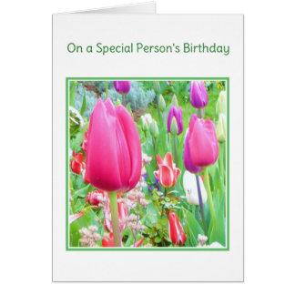 Op de godsdienstige Verjaardag van een Speciale Kaart
