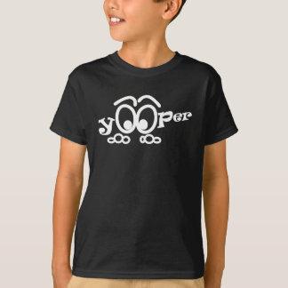 OP de Grappige Kinder T-shirt Yooper van Michigan