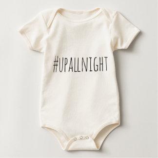 Op de hele nacht Hashtag Baby Shirt