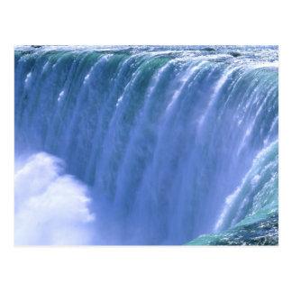 Op de Rand van Krachtige Niagara Herfsten, New Briefkaart