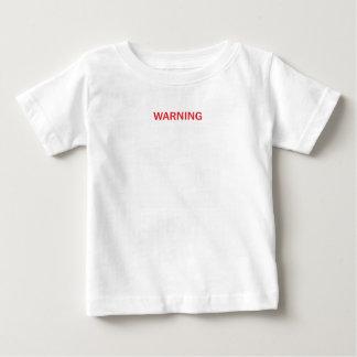 Op elk ogenblik het waarschuwen van Fotografie van Baby T Shirts