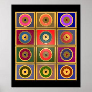 jaren 60 afdrukken posters en kunstwerken online bestellen. Black Bedroom Furniture Sets. Home Design Ideas