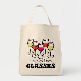 Op Mijn Tijd, heb ik de Humor van de Wijn van Draagtas