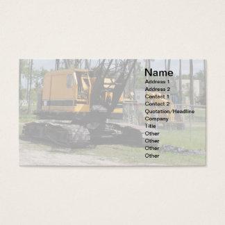 op zwaar werk berekend bouwmateriaal visitekaartjes