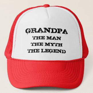 Opa het man de mythe het pet van de