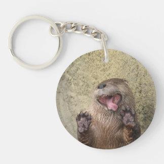 Open Breed! Otter Keychain Sleutelhanger