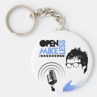 Open Mikeless Keychain Sleutelhanger