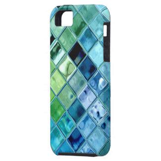 Open Oceaan Digitale Kunst voor Douane Smartphone Tough iPhone 5 Hoesje