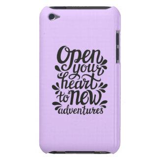 Open Uw Hart voor Nieuwe Avonturen iPod Touch Hoesje