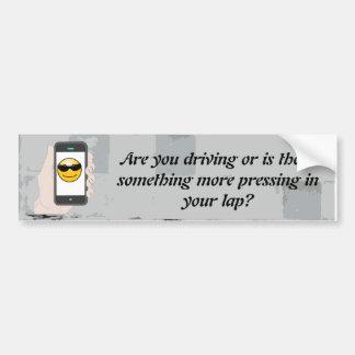 Openbare Veiligheid/texting/ruwe bumpersticker