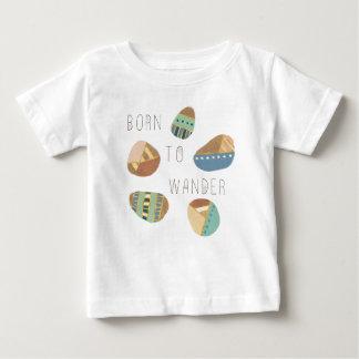 Openlucht Geo IX | Geboren te wandelen Baby T Shirts