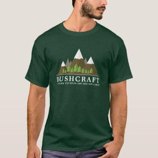 Openlucht Wildernis Bushcraft T Shirt