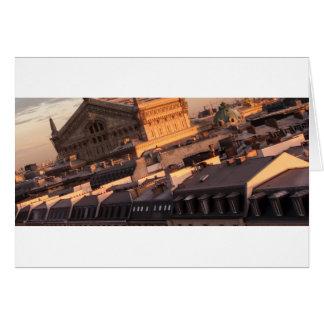 Opera Garnier, Parijs, Frankrijk Wenskaart