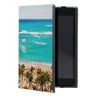 Opgeheven Uitzicht van de Scène van het Strand iPad Mini Hoesje