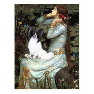 Ophelia - Papillon 1 Briefkaart