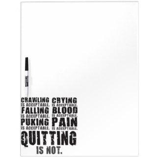 Ophouden met is niet Aanvaardbaar - Motivatie Whiteboards
